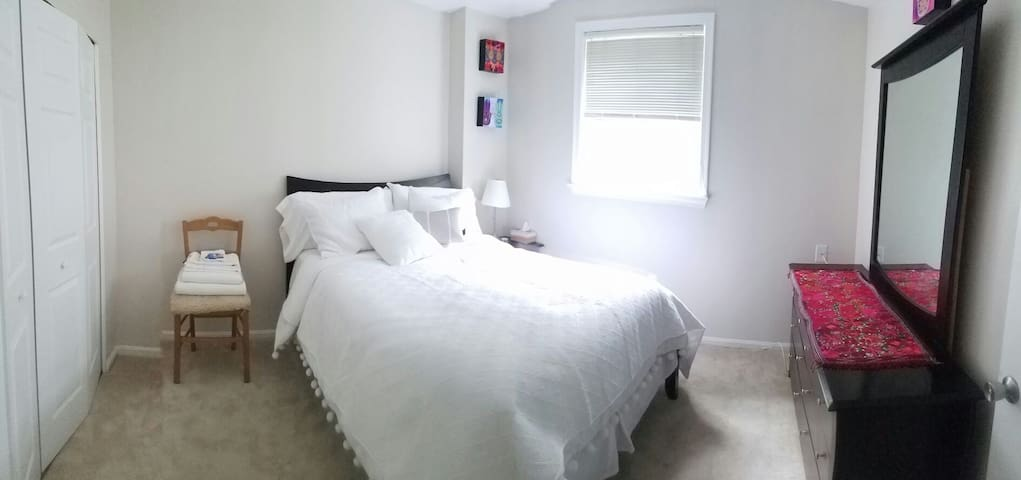 Comfortable bedroom for 1 person - Rockville - Casa