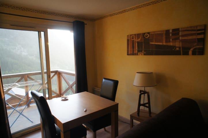 Appart 2 Pièces dans le Mercantour - Isola - Apartamento
