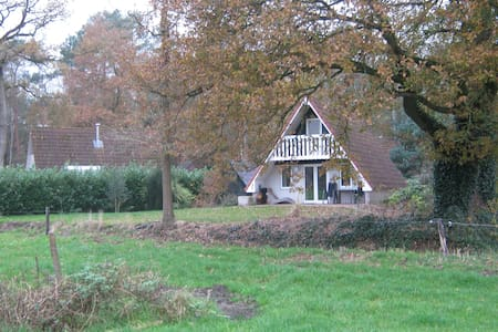 gezellige vakantiewoning op rustig park bij Ommen - Ommen - Hytte