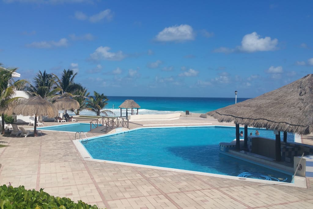 Relish in the breathtaking view of our little slice of Caribbean heaven