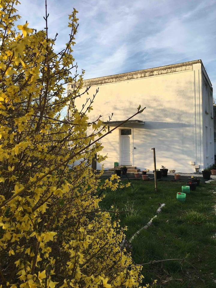 Maison dans la verdure à 15 km du Lac du Der