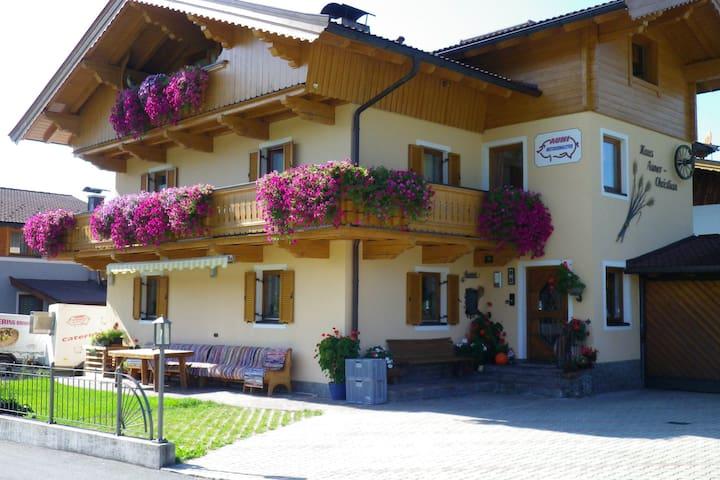 Tolle Ferienwohnung in ruhiger Lage in der Nähe von Westendorf neben dem Golfplatz gelegen