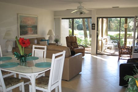 SEA PINES 2BR 2BA, GROUND LEVEL, LOW WINTER RATES! - Hilton Head Island