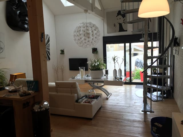 Loft à louer en Charente maritime❤️ - Semussac - ลอฟท์