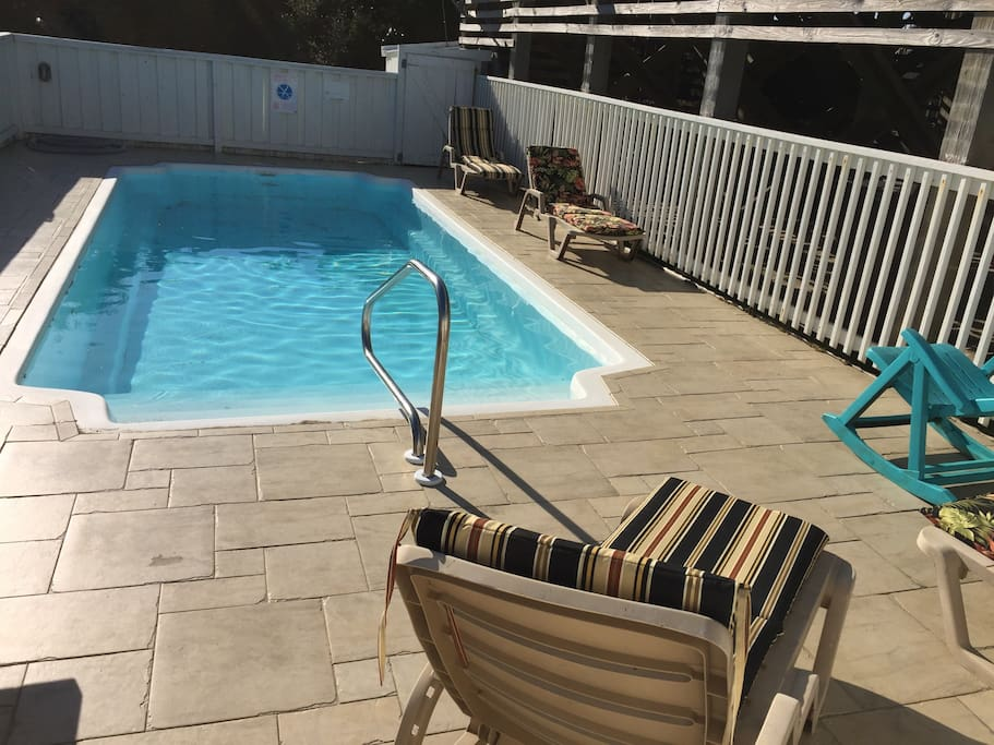 Steps To The Beach Ocean Views 4br Pool Spa Houses For Rent In Avon North Carolina