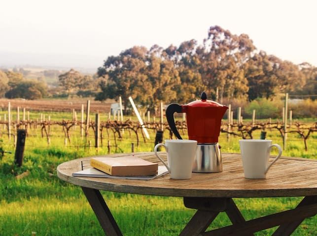 Take in the views while enjoying your morning coffee