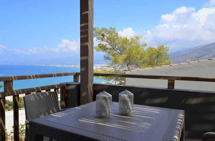 Blue View Villa #7:Amazing views/location,peaceful
