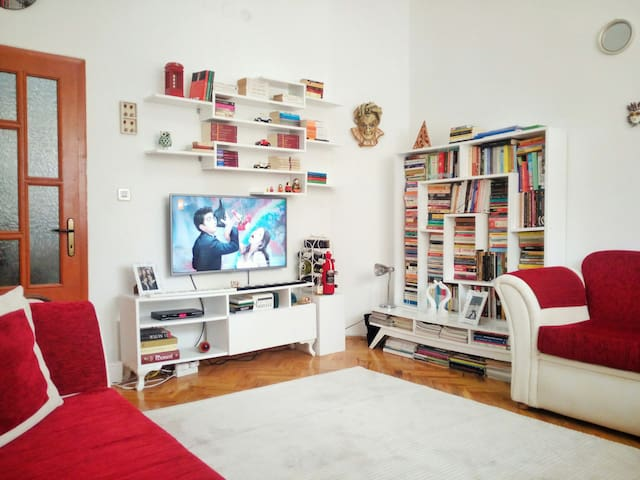 1+1 charming flat&good location - Yenimahalle - Apartamento