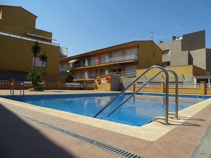 Apartamento en L'Estartit a 100 metros de la playa