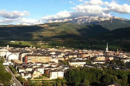 Habitación para dos en la Seu - La Seu d'Urgell - アパート
