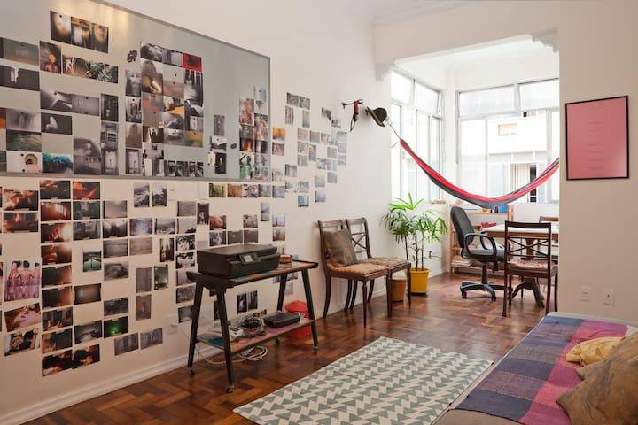 Artsy / cozy place at lapa - Rio de Janeiro - Appartement