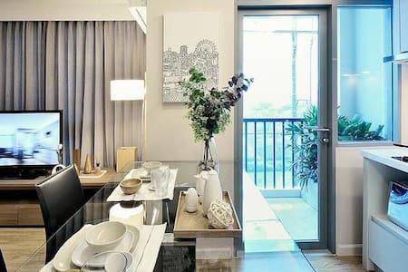 Travel Sweet Room Roomme @Siamese Nang linchee - Bangkok - Condominium