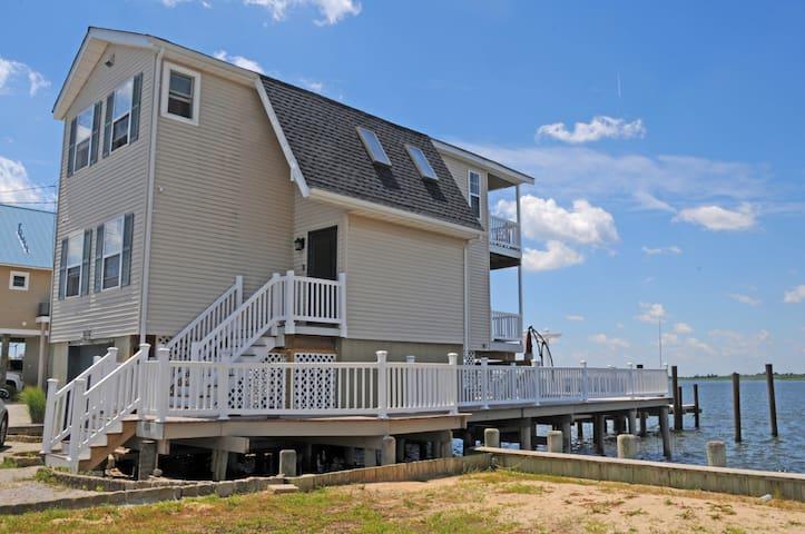 Unique Overwater house in Tuckerton, NJ