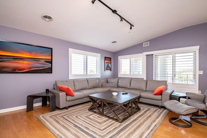Remodeled Penthouse With Ocean Views In Dewey Beach