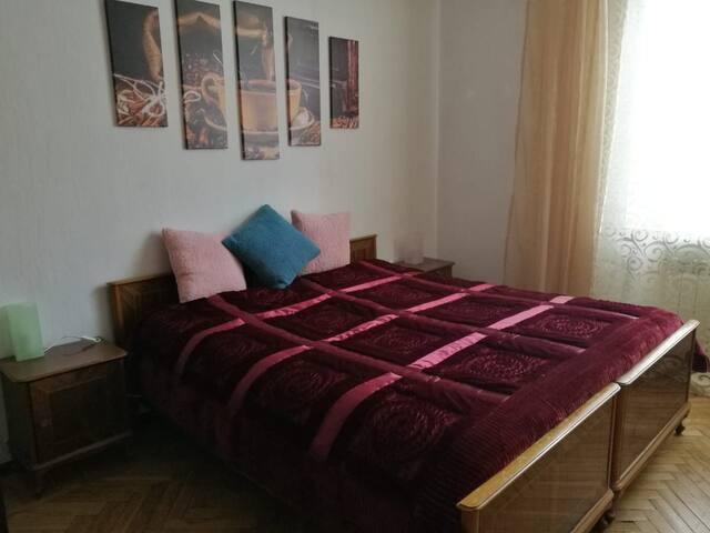 Спальня на Васильевском острове