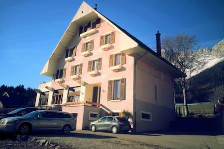 Belle chambre deco montagnes - Le Gua - Apartment