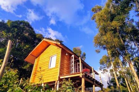 Chalé do Ipê, Cabana Romântica, vista espetacular