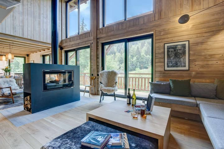 Mesange Azurée - Brand new chalet 6 bedrooms 6 bathrooms for up to 16 people
