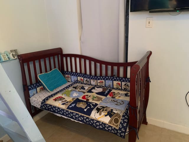 Toddler bed for the little ones.  Can be made up for a boy or a girl design just let us know!