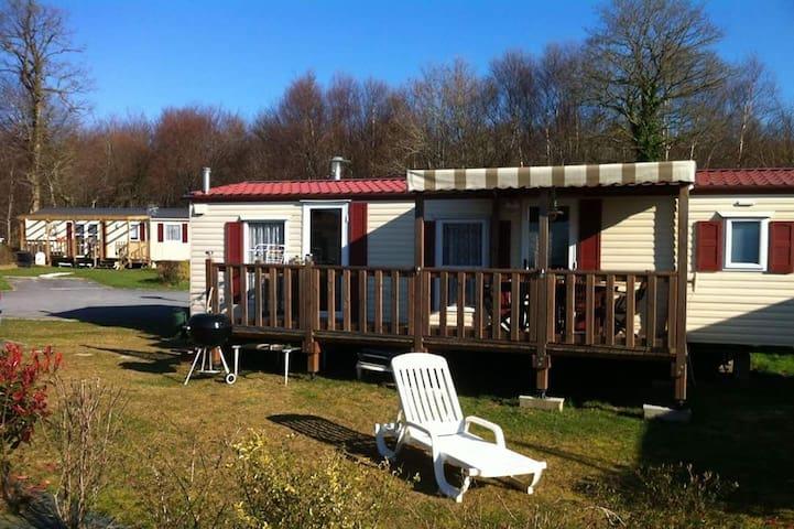 Mobil Home tout confort ,domaine 4* - Litteau - Bungalou