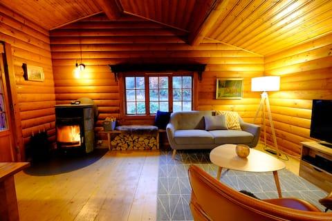 Woody Willinge - Pondok kayu di alam yang indah