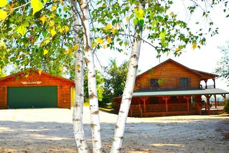 Moose Lodge Log Cabin - Harpers Ferry - Sommerhus/hytte