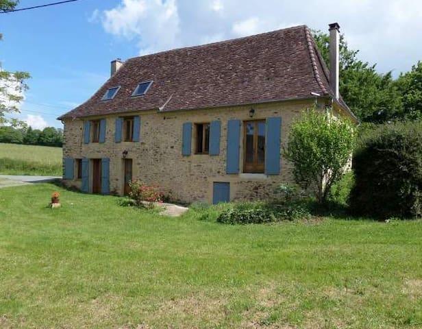 Charmante maison perigourdine à la campagne - Sarlande - Huis