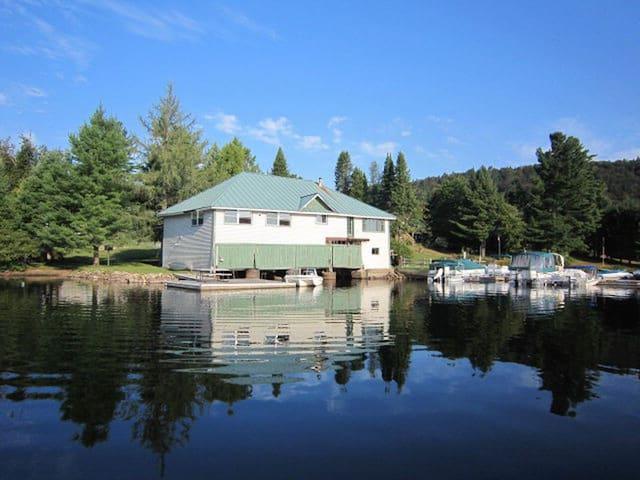Glenmore Boathouse Left