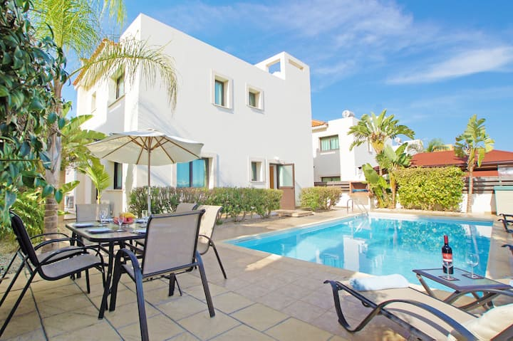 Abdera-4 Beds family private Villa