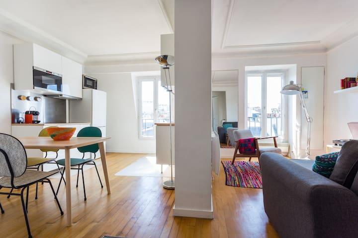Design&Arty ArcTriomphe,Tour Eiffel,Palais congrès - Paris - Apartemen