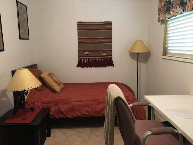 Centennial, close to DTC. Small bright bedroom