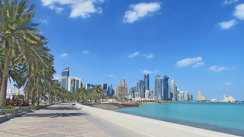 URBANE 1 BR NEAR DECC IN WEST BAY, DOHA