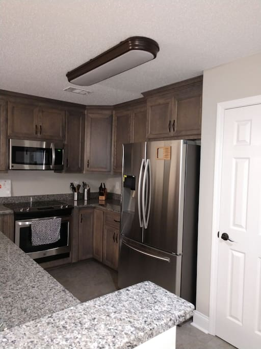 Staying nless steel kitchen for your cooking pleasure...