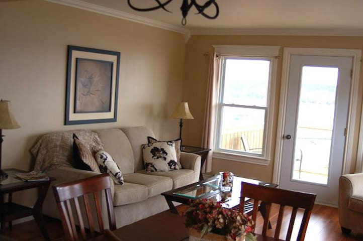 Comfortable living area. with beautiful panoramic view!