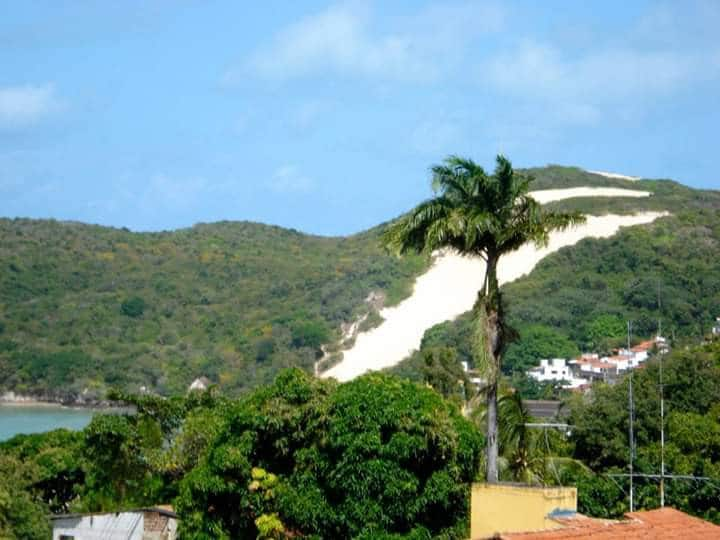 apto  mobiliado com vista para morro do Careca