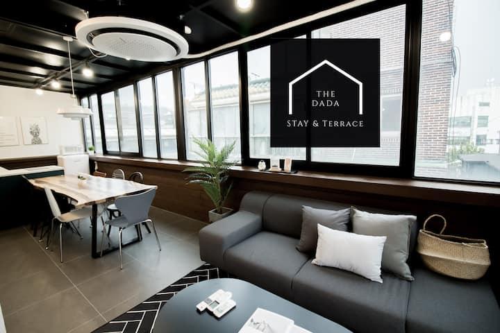 H4 Rooftop House(3BR, Bath) in Hongdae [中文&Eng]