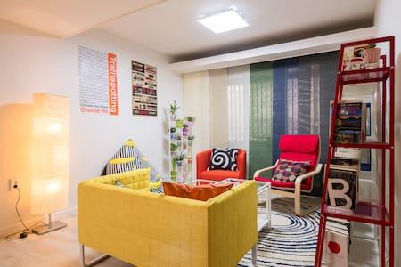 Casa Leo-Double Room in HONGDAE(홍대) - Mapo-gu - Apartment