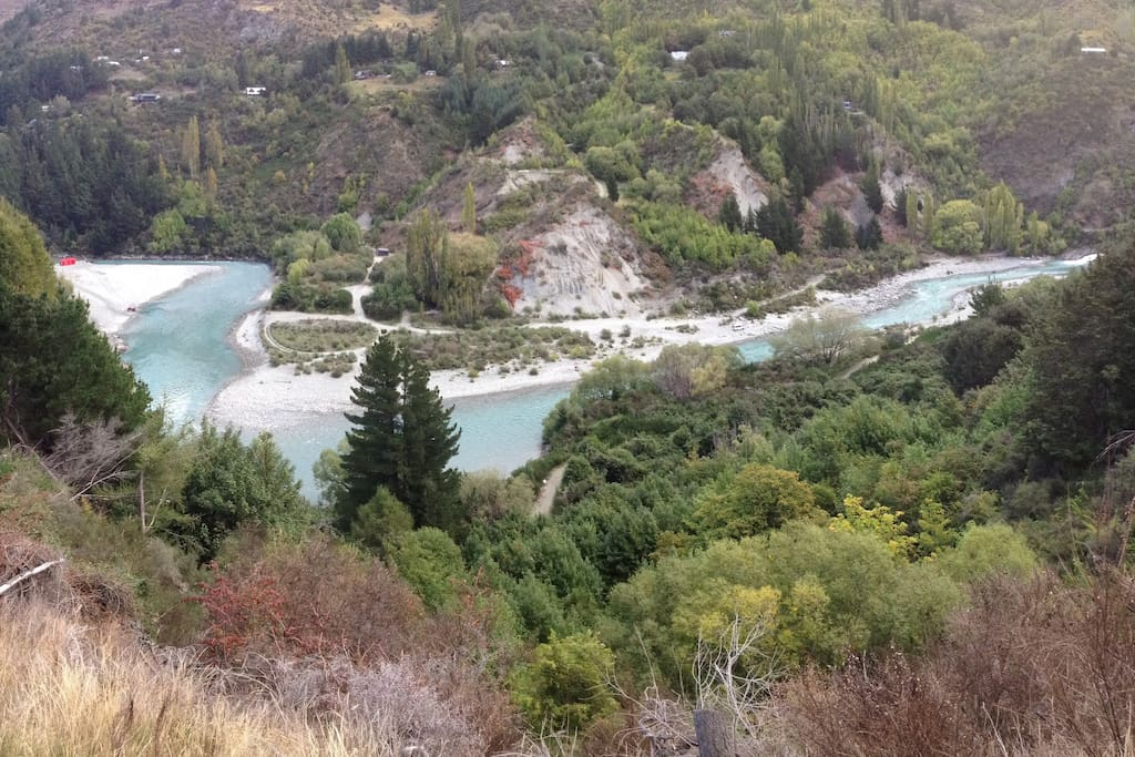 Watch people have fun on the famous Shotover Jet