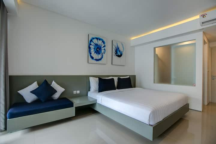Bali Lovely Studio Apartment With Balcony @Kuta 5
