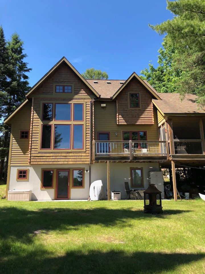 Northwoods Tranquility awaits on Blaisdell Lake