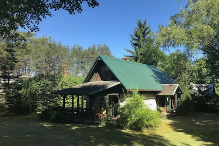 Cottage house-Augustow Primeval Forest, near lake