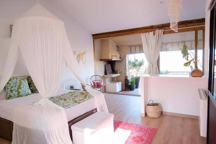 Spacieuse chambre +terrasse 50m2