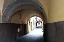 via Chiostro della Cattedrale