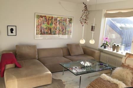 Hus og have-idyl. - Tranbjerg J - Talo
