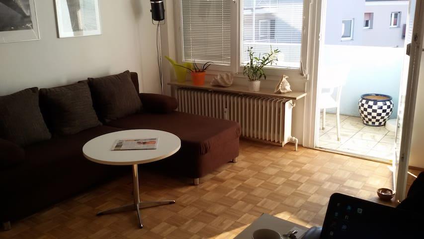 Nice Apartment near Fairground and City - Nürnberg - Lejlighed