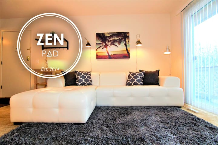 ZEN PAD | 2BR Apt Downtown MtView - Mountain View - Apartment