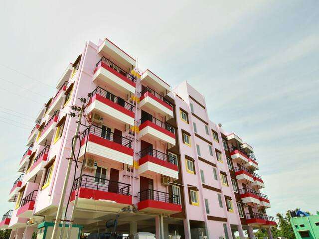 OYO - Vibrant 3 BHK Apartment in Pondicherry-Flash Deal ⚡
