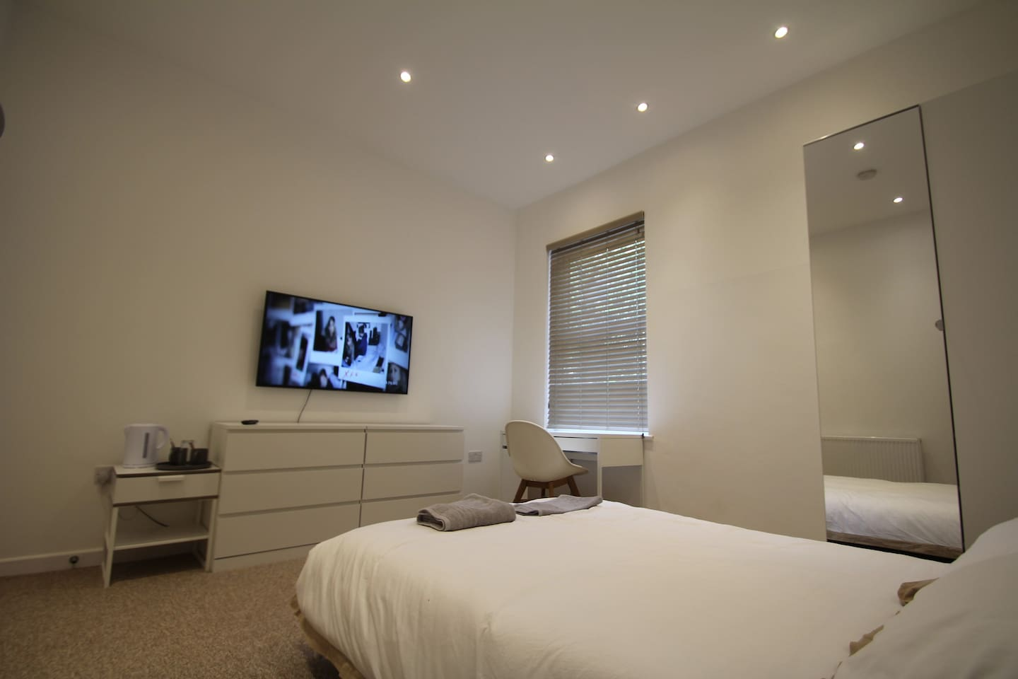 Hotel style room with amazing facilities