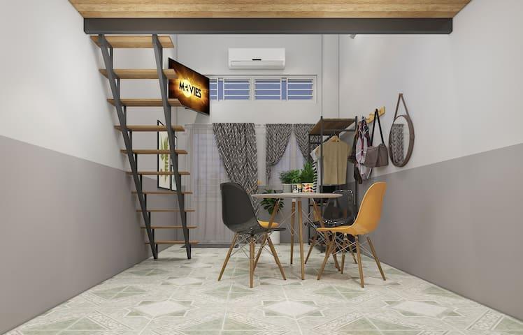Le Conte Danang Homestay Mezzanine l6