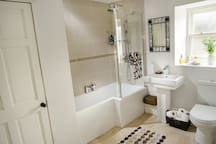 Guest Bathroom with Double Ended Bath and Mixer Shower
